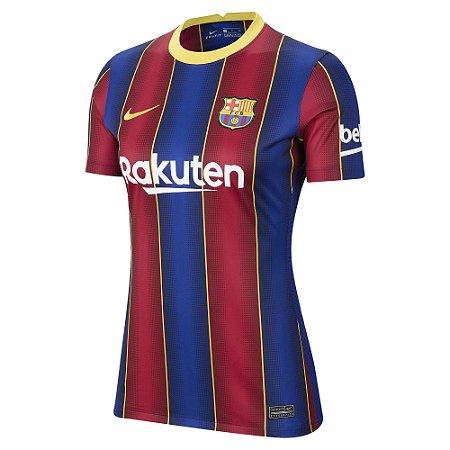 Camisa Nike Barcelona 2020/21 Feminina