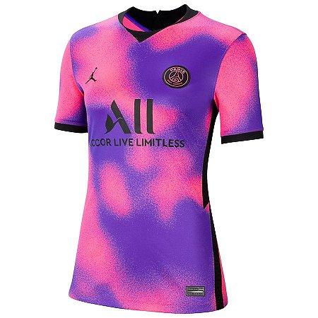 Camisa Nike PSG 4 2020/21 Feminina