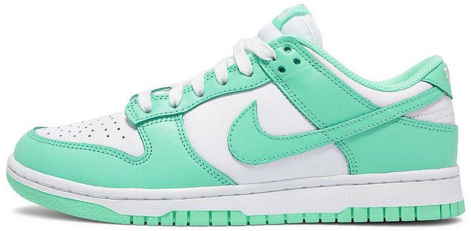"""Nike Dunk Low Wmns """"Green Glow"""" Feminino"""