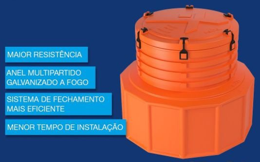 Sump de tanque C/ kit de fixação