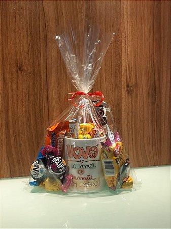 Presente - Caneca personalizada c/chocolate