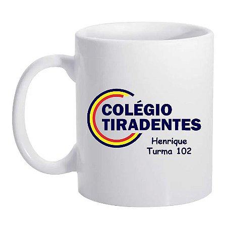 Caneca de Porcelana 325 ml - Colégio Tiradentes