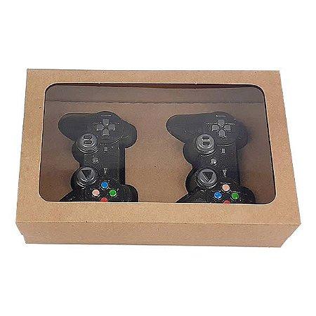 Caixa Kraft para 2 Controle Joysticks Mini PlayStation (20x13x5 cm) 10unid