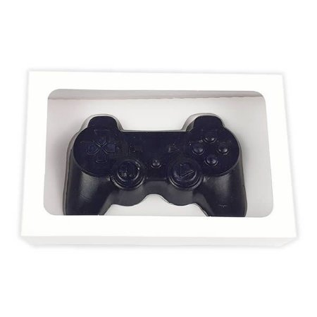 Caixa Branca Controle Joystick PlayStation Grande Chocolate (20x13x5 cm) 10unid