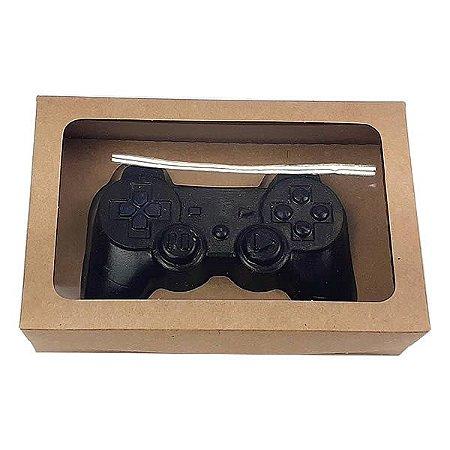 Caixa Kraft Controle Joystick PlayStation Grande Chocolate (20x13x5 cm) 10unid