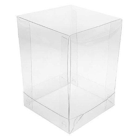 PMB-9 Embalagem de Acetato (8.5x8.5x12 cm) Caixa de Plástico 10unid
