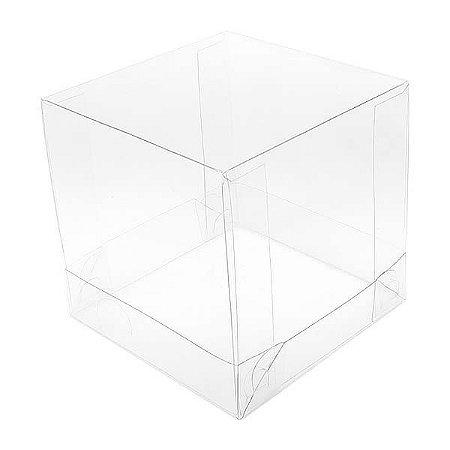 PMB-3 Caixa de Acetato 7.5cm (7.5x7.5x7.5 cm) Embalagem de Plástico 10unid