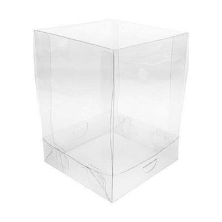 PMB-1 Caixa para Mini Bolo (10x10x12.5 cm) Embalagem de Plástico 10unid