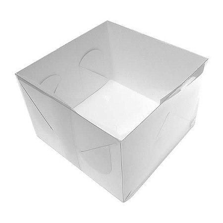 TRP-8 (14x14x10.5 cm) Embalagens Plástico Acetato e Papel 10unid