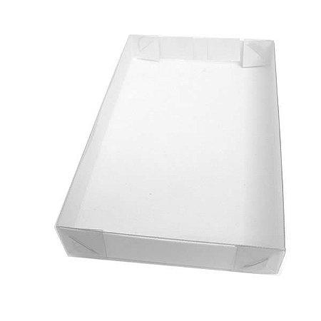 TRP-63 (12x7.5x1.5 cm) Embalagens Plástico Acetato e Papel 10unid