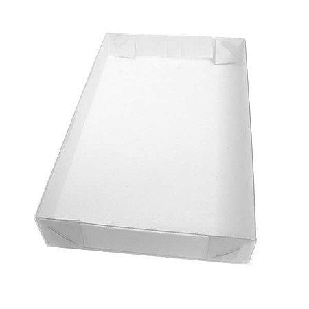 TRP-60 (14x7x1.5 cm) Caixa Plástico Acetato e Papel 10unid