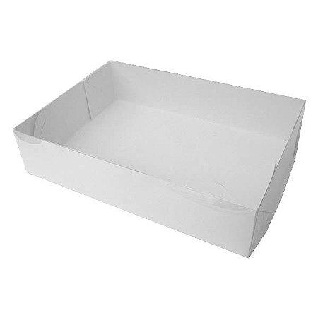 TRP-5 (26x18x6 cm) Caixa Plástico Acetato e Papel 10unid