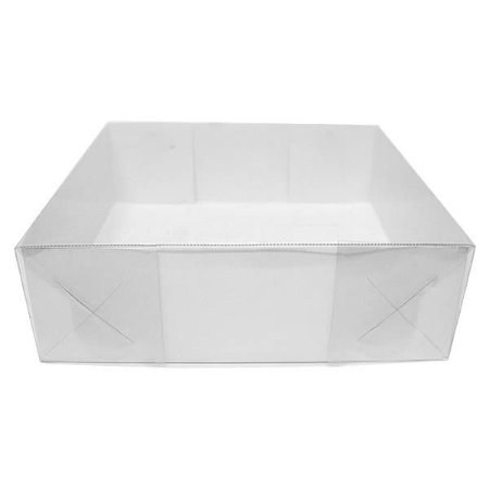 TRP-12 (12x12x6 cm) Caixa para Embalagem Acetato e Papel 10unid