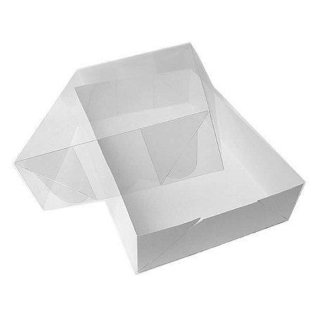 TRP-11 (22x16x4 cm) Caixinha de Plástico Acetato e Papel 10unid
