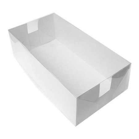 TRP-7 (31x16x10 cm) Embalagens de Plástico Acetato e Papel 10unid