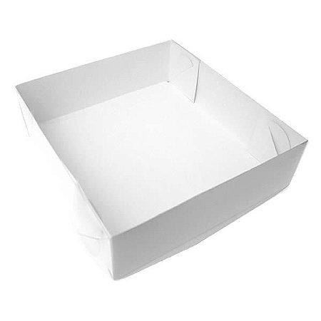 TRP-50 (11 X 11 X 3 cm) Embalagens Plástico Acetato e Papel 10unid