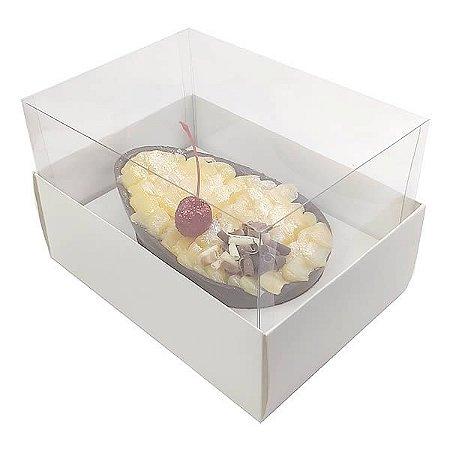 KIT Caixa Ovo de Colher Páscoa 350g (16x11,5x10 cm) Caixa e Berço KIT124 Embalagem Ovo de Colher 5unids