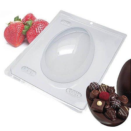 Forma para Chocolate Ovo de Páscoa 350g Forma Simples Ref. 142 BWB 5unids