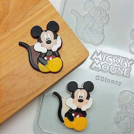 Forma para Chocolate Bombom Mickey Agraciando 14g Ref. 12074 BWB Licenciada Disney 10unid