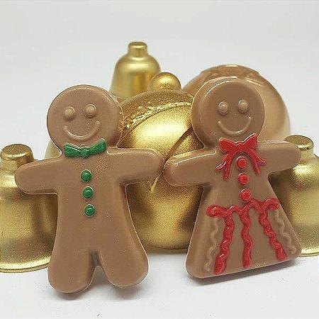 Forma para Chocolate Biscoitinho de Natal Forma Simples Ref. 9735 BWB 5unids