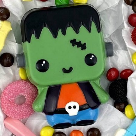 Forma para Chocolate com Silicone Frank Baby Halloween 150g Ref. 10200 BWB 1unid