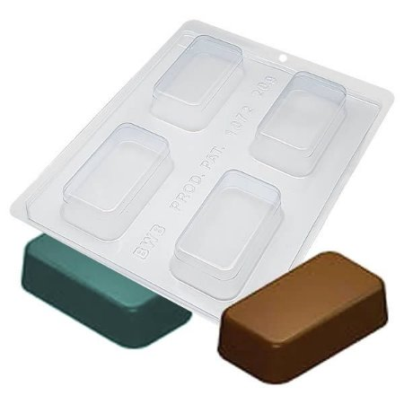 Forma para Chocolate com Silicone Bombom Bolo Grande Ref. 1072 BWB 1unid