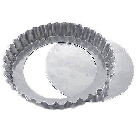 Forma de Aluminio Torta de Maçã Crespa Fundo Falso nº30 Ref. 3006 (29.5x28.5x2.5 cm) BWB 1unid