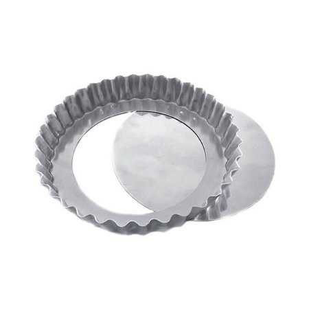 Forma de Aluminio Torta de Maçã Crespa Fundo Falso nº20 Ref. 3009 (19.5x18x2.5 cm) BWB 1unid