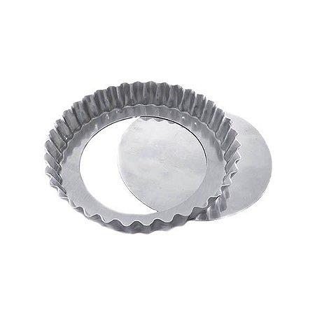 Forma de Aluminio Torta de Maçã Crespa Fundo Falso nº17 Ref. 3010 (16.5x14.5x2.5 cm) BWB 1unid
