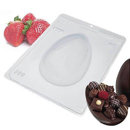 Forma para Chocolate com Silicone Ovo de Páscoa 350g Ref. 50 BWB 1unid