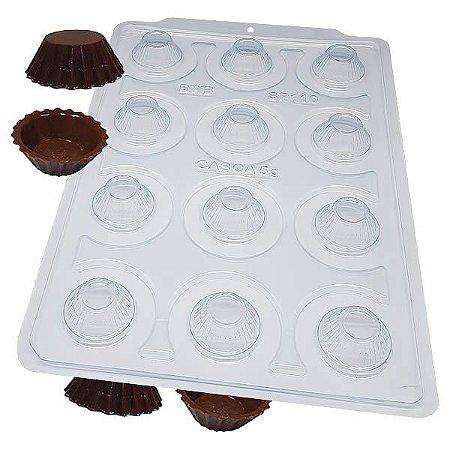 Forma para Chocolate Semiprofissional com Silicone Mini Cupcake SP 110 Ref. 3528 BWB 1unid