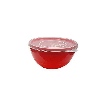 Derretedeira para Chocolate Pequena 250ml Vermelha Sólida Ref. 9630 BWB 1unid