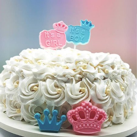 Forma para Chocolate Pirulito Its A Boy Its A Girl 21g Forma Simples Ref. 9659 BWB 5unids