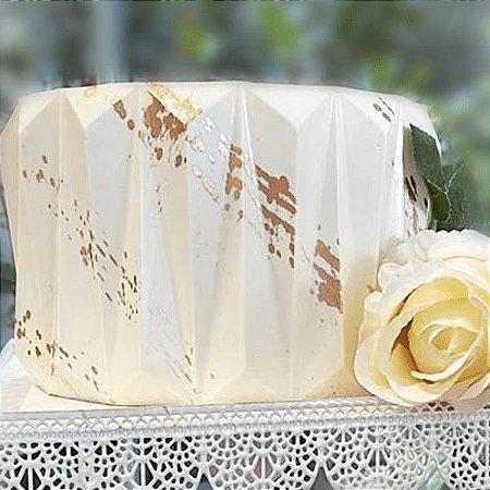 Placa Origami Cake Vincado Ref. 10142 BWB 1unid