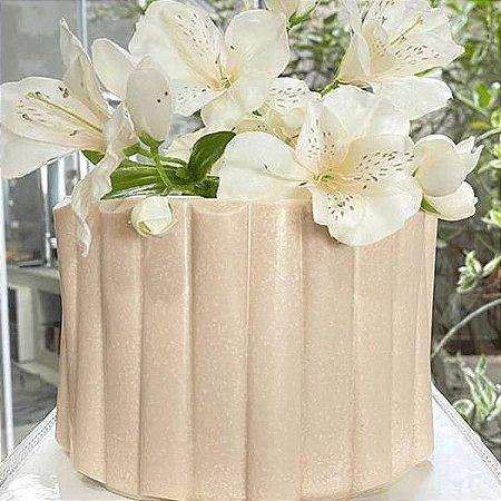 Placa Origami Cake Semicilíndrico Ref. 10153 BWB 1unid