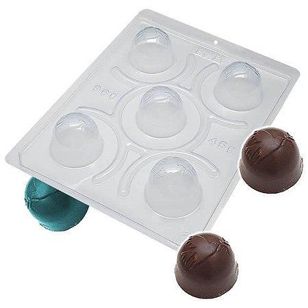 Forma para Chocolate com Silicone Trufa da Paz 45g Ref. 960 BWB 1unid