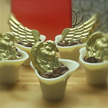 Forma para Chocolate Anjinho Dormindo 4g Forma Simples Ref. 9733 BWB 5unids