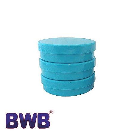Latinha Azul Pote Sólido Ref. 9504 BWB 10unid