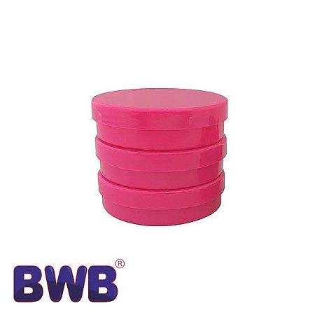 Latinha Rosa Pote Sólido Ref. 9506 BWB 10unid