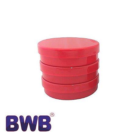 Latinha Vermelha Pote Sólido Ref. 9508 BWB 10unid