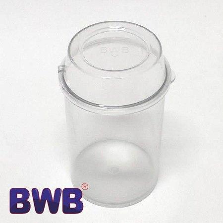 Pote Multiuso Cristal Temperos Lembrancinhas Doces Ref. P5012 BWB 4unid