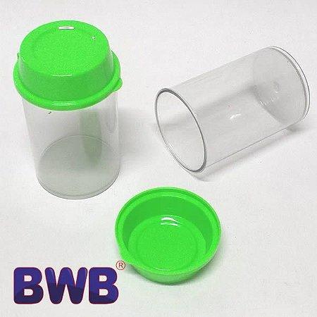 Pote Multiuso Verde Sólido Temperos Lembrancinhas Doces Ref. P9513 BWB 4unid