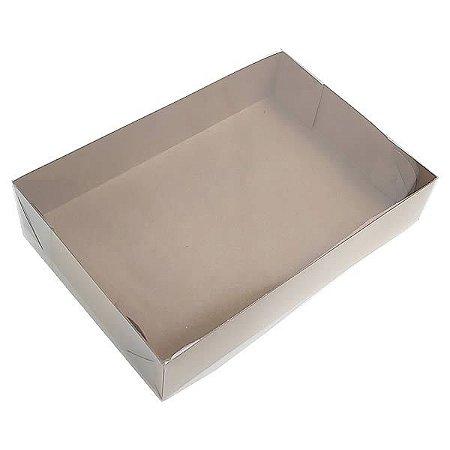 KRP-3 KRAFT (20x14x4 cm) Caixa de Plástico e Papel 10unid