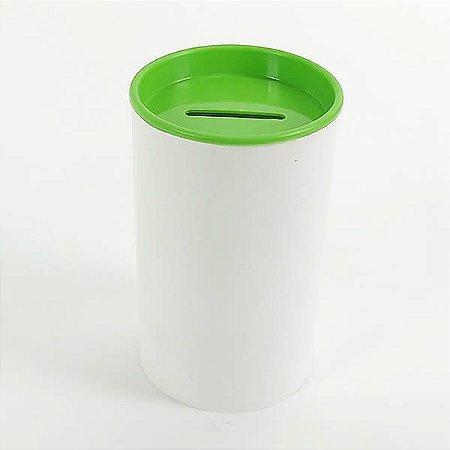 Cofrinho de Plástico Verde Claro 10unid Festas