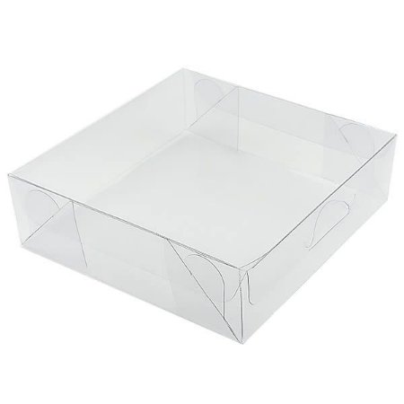 KIT (5pçs) PX-7 (14x14x4 cm) Caixa de Acetato