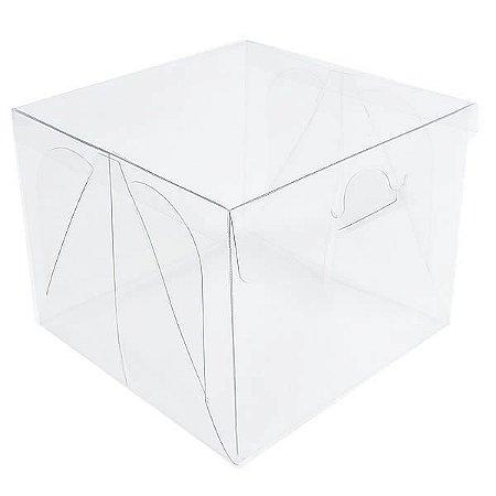 PX-4 (10x10x8 cm) 10und Caixa de Acetato Transparente