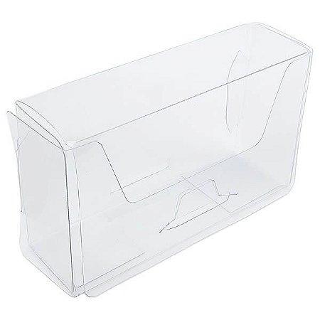PX-31 Caixa para Cartão de Visita (10x3x6) cm 10und Caixa de Acetato Transparente