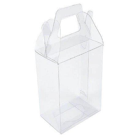 PX-27 (7x6,5x9) cm 10und Maleta Caixa de Acetato Transparente