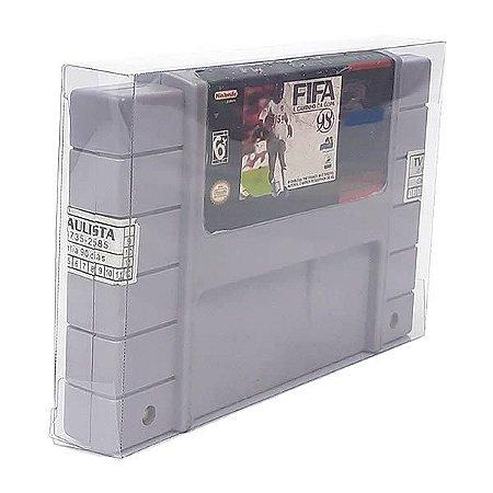 Games-1 (0,30mm) Caixa Protetora para Cartucho Loose Super Nintendo SNES 10unid