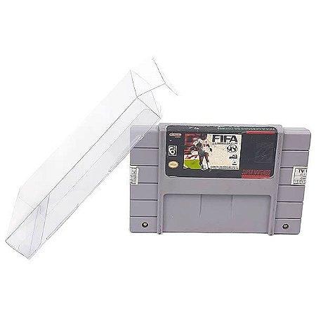 Games-1 (0,20mm) Caixa Protetora para Cartucho Loose Super Nintendo SNES 10unid